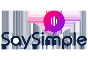 De koppeling met SaySimple